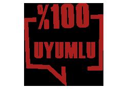 PDKS Cihazlarınız ile %100 UYUMLU.